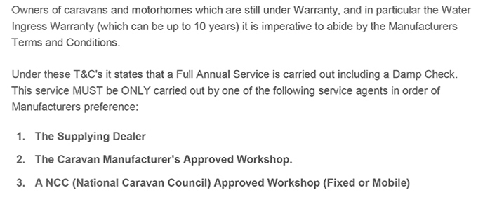Why have your van serviced by an approved workshop scheme member part 1
