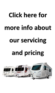 caravan servicing and pricing button