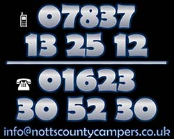 Nottinghamshires No1 caravan and Motorhome repair and service specialist 07543 352304