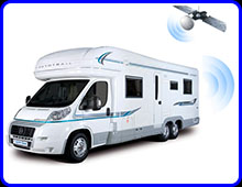 motorhome thatcham approved and insurance approved vehicle trackers