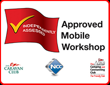 approved workshop scheme caravan service