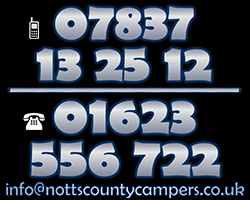 Notts County Campers contact numbers