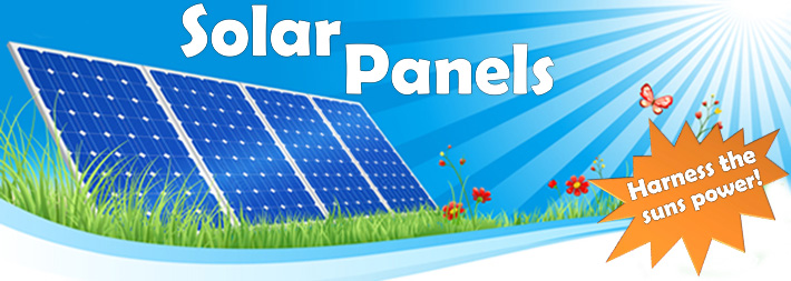caravan and motorhome solar panels top banner