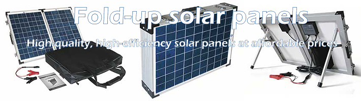 fold up solar panels top banner